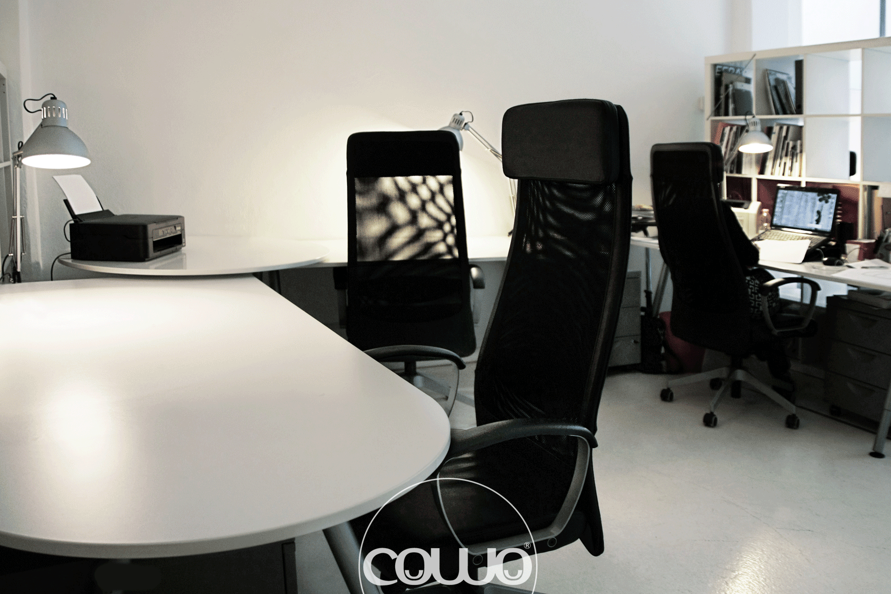 workstation with exclusive and reserved use coworking Milano Lambrate
