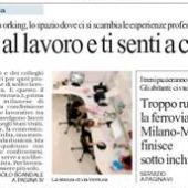 Il Coworking Milano Lambrate su Repubblica, in copertina!