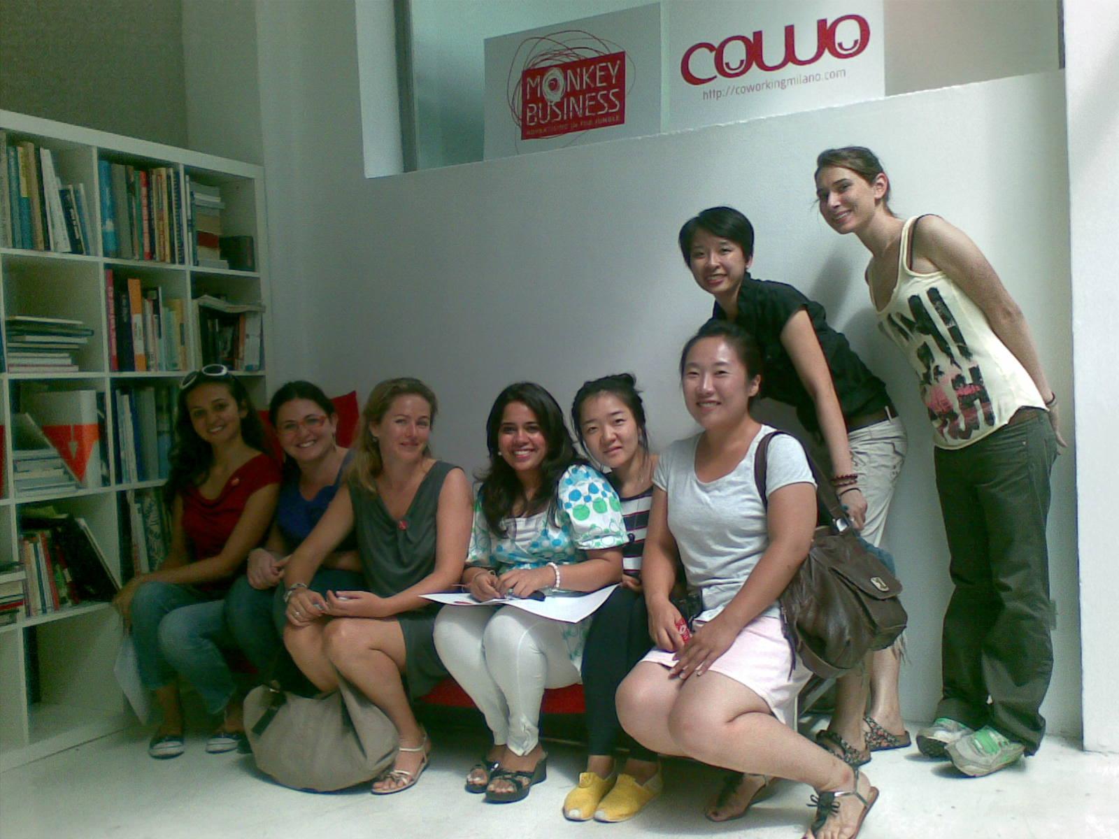 Domus Academy @ Cowo - foto ricordo!