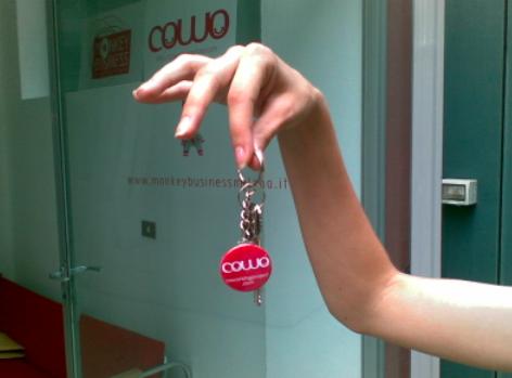 Le chiavi del Cowo, coworking libero da orari.