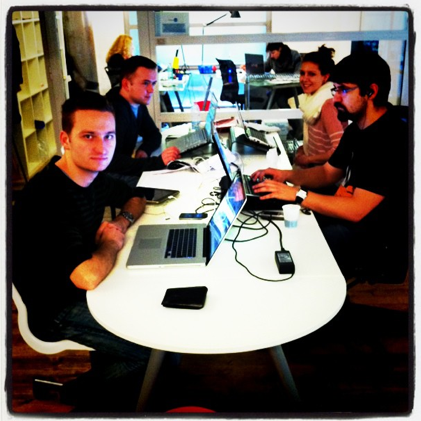 The team of web designers from Poland @ Cowo Milano Lambrate