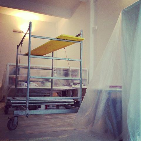 Lavori al Co-Work di Milano Lambrate in Via Ventura
