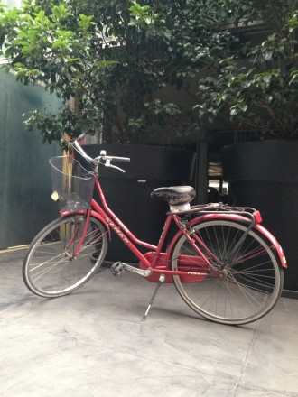 Bici di cortesia coworking Cowo Milano Lambrate