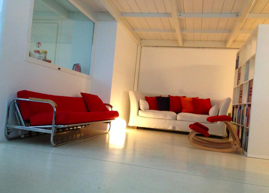 Area relax al Coworking Milano Lambrate