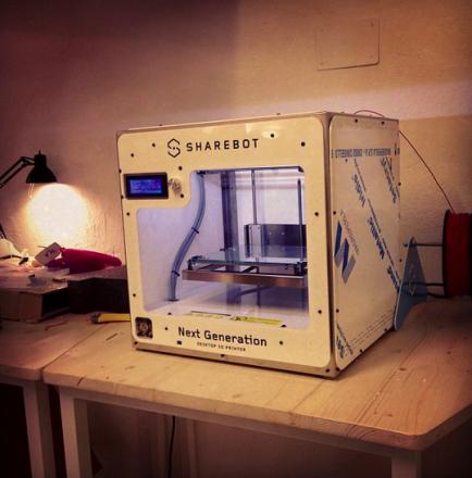 per i nostri coworker: stampante 3D Sharebot NG