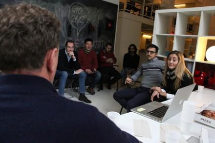 Presentation Lunch a Coworking Cowo Milano Lambrate con Alberto Canali Stampante 3D