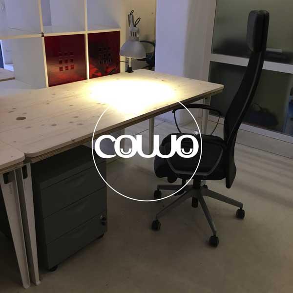 I nuovi tavoli del Coworking Milano Lambrate
