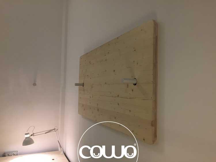I nuovi tavoli del Coworking sede del Network Cowo