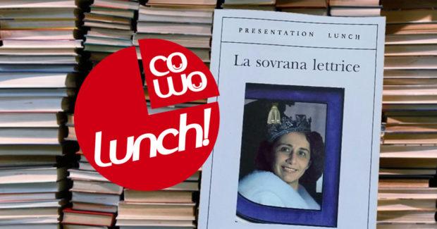 Cowo Milano Lambrate: Presentation Lunch con Irene Marini