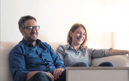 Massimo Carraro e Laura Coppola