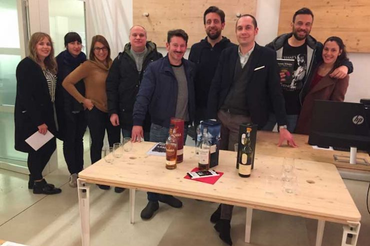 Gruppo Coworking Lambrate: degustazione whisky