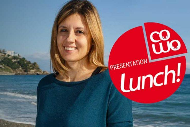 Cristina Maccarrone al Coworking Cowo Milano Lambrate