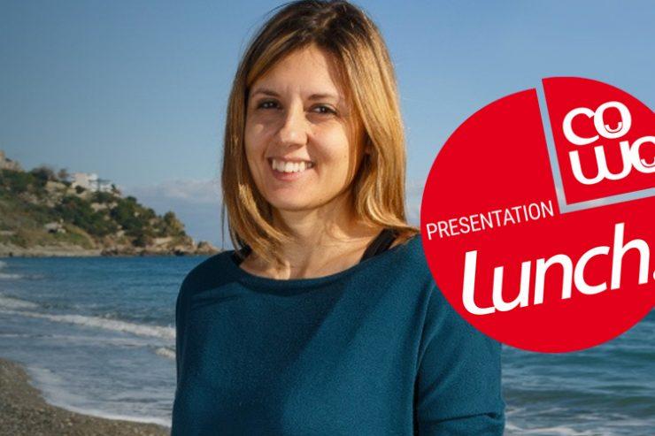 Coworking Cowo Presentation Lunch con Cristina Maccarrone